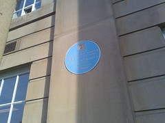 Photo of Richard Lane blue plaque