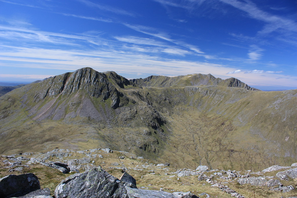 Sgurr na Sgine and the Saddle