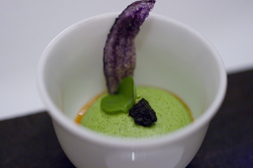watercress mousse