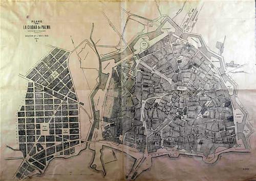 Plano Palma de Umbert y Peris