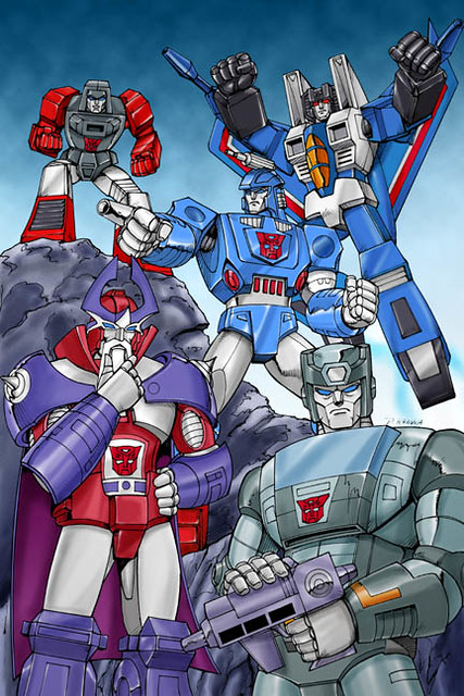 Alpha Trion Transformers cartoons