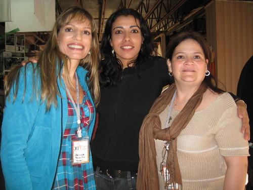 Participantes de Brasil, Costa Rica y Colombia