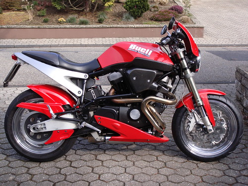 2001 Buell Lightning X1. X1 Lightning 2001, Germany