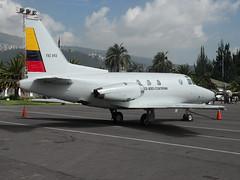 Sabreliner T-39 (Boris Forero) Tags: quito g zero fae t39 sabreliner borisforero
