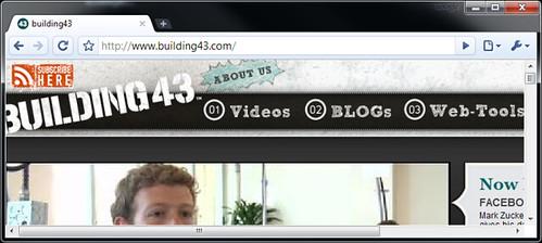 Screen Capture of Building43