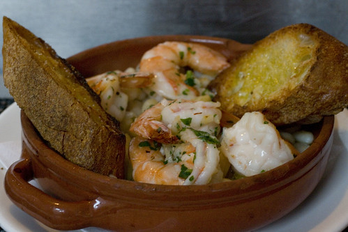 Gulf Shrimp with White Beans