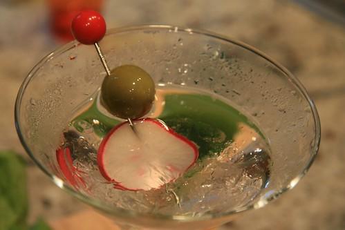 radish martini