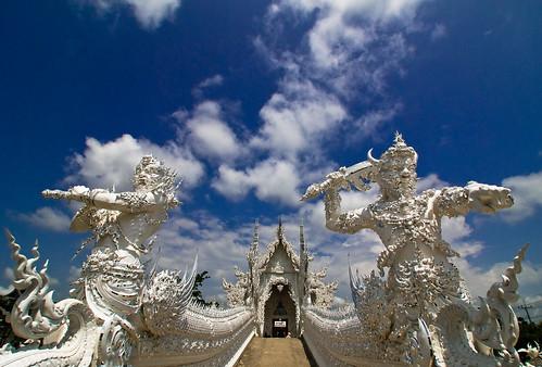 Wat Rong Khun at Chiang Rai