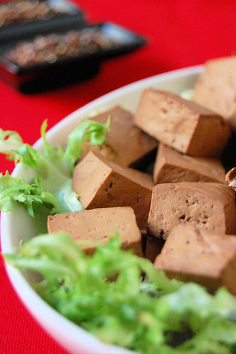 lapsang souchong and star anise tofu with szechuan pepper da te.