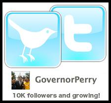 Governor Rick Perry's Twitter