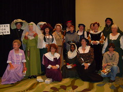 Costumes from the Historical Novel Society Conference