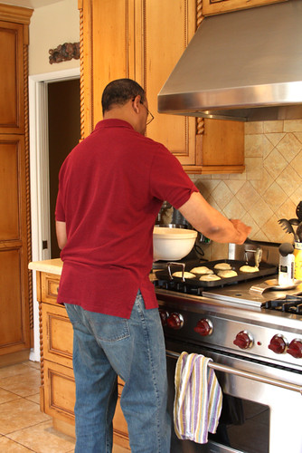 Dad and Pancakes