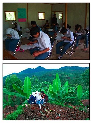 Pelajar SMK Pertanian Sarimukti
