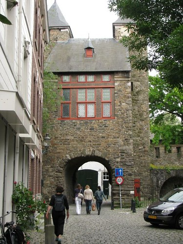 one of the old city gates