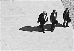 Businessmen (digitalTool ) Tags: people blackandwhite bw biancoenero silouhette businessmen abigfave theunforgettablepictures digitaltool carlomarrasphotography