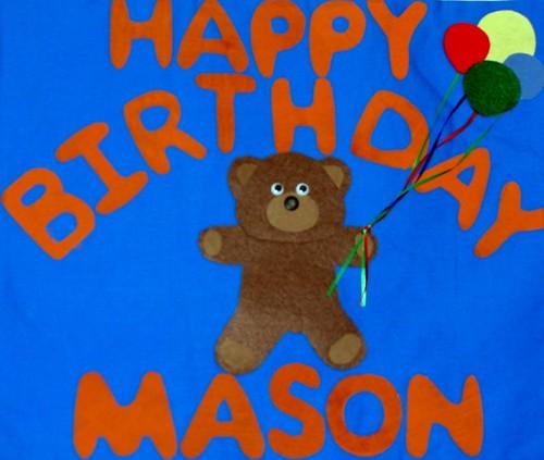 Mason's Birthday Banner