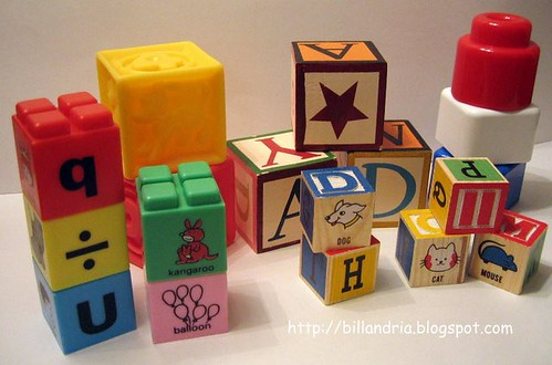 Matthew's toy blocks