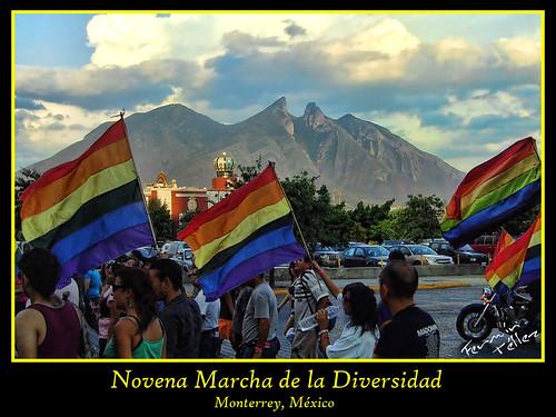 9a Marcha de la Diversidad de Nuevo León