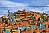 5 de Julio (Pankcho) Tags: poverty houses mountain kite colors wire colours venezuela cable colores caracas cerro montaña casas favela barrio hdr ranchos papagayo pobreza petare cometa asentamiento slump miseria barriada 5dejulio