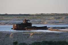 Aral Sea (Mark Pitcher) Tags: sea ecology shipwreck disaster kazakhstan aral aralsk
