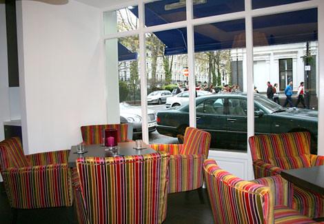 Phi Restaurant at Boutique Hotel in London Paddington