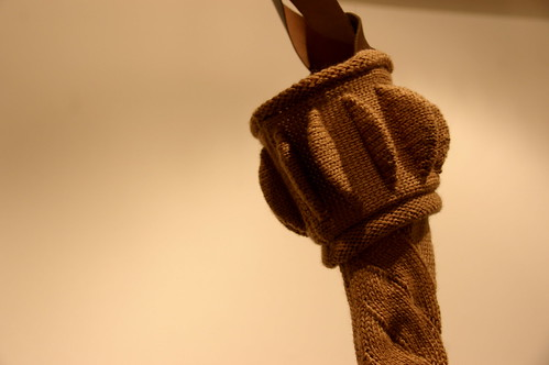 knitting exhibition at Craft Victoria