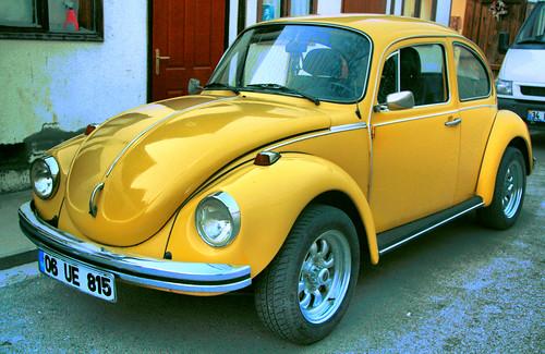 Halk arasında tospağa kaplumbağa diyede adlandırlan volkswagen