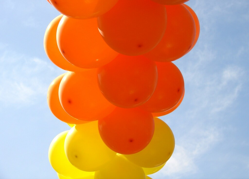 Orange and Yellow Balloons II