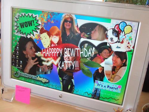 SD+ Birthday Desktop