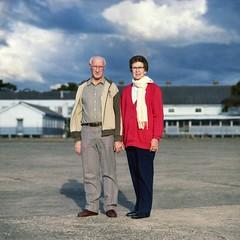 Doug and Joy. (Stu.Brown) Tags: portrait rolleiflex nc sl66 portra 160 rathmines