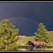 Horestooth Rainbow Panorama