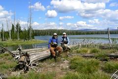 At Beula Lake (Upstate Dave) Tags: fishing yellowstone flyfishing troutfishing fallsriver beulalake yellowstonefishing