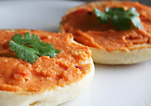 Roasted Capsicum Hummus
