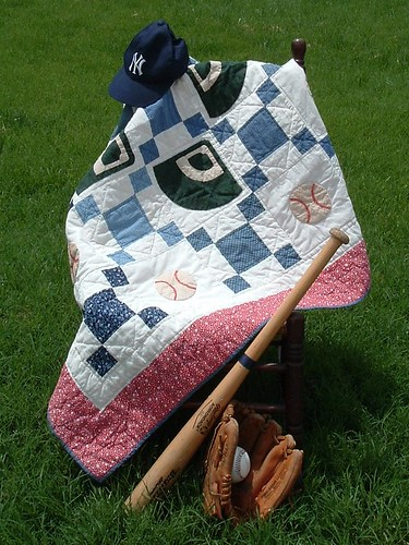 Baseball Baby Quilt