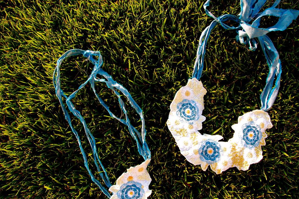 vintage bib necklaces