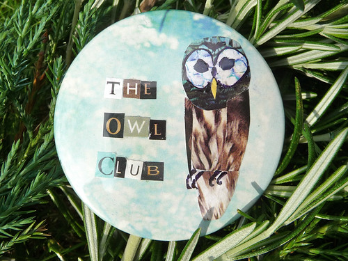 The Owl Club collage badge