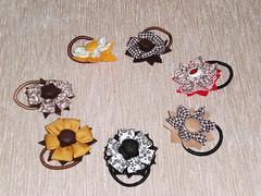 Prendedores de Cabelo (Iara e Bel) Tags: flower flor felt feltro