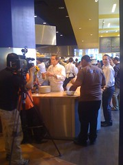 Xoco - Rick Bayless being interviewed