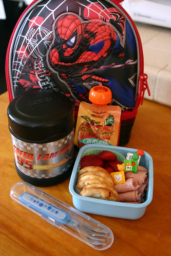 Kindergartner Bento #233: September 10, 2009