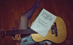 do you really know ? (Cartiis) Tags: love portugal girl notebook hand floor legs guitar amor guitarra porto pernas chão viola mão caderno violão rapariga andreiacartaxo