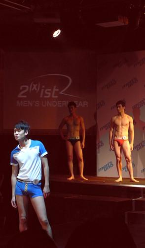 你拍攝的 MEN`S UNO 模特兒決賽。