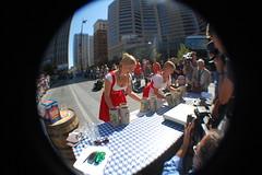 Gemuetlichkeit Games (thadd) Tags: ohio fountain square fun nikon downtown cincinnati games oktoberfest fisheye gemuetlichkeit zinzinnati opteka d40 tehhawtness