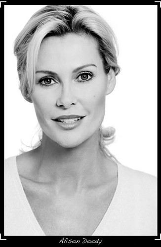 Alison Doody is an irish actress. I used her picture as a little tongue in ...