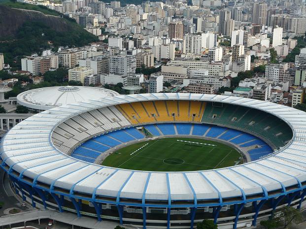 World Cup 2014 Stadiums: Estadio Do Maracana, Rio de Janeiro ...
