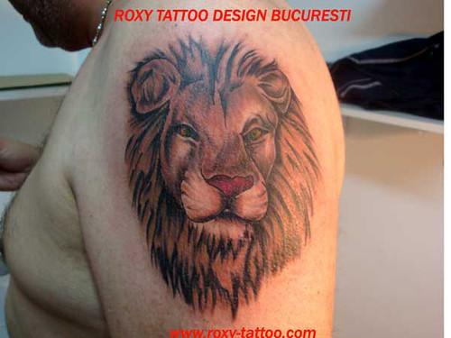 Leu Tatuaje Tatoo Tattoo Tatuaj by ROXY TATTOO DESIGN BUCURESTI