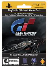 POSA card Gran Turismo
