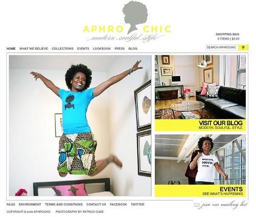aphrochicshop website