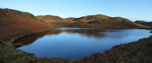 Loch A Mhinn. Kilmelford Hill Lochs.Copyright Brian Turner
