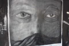 Sad face (evlog) Tags: street canon graffiti athens greece pete exarchia ελλάδα αθήνα γκράφιτι εξάρχεια eos1000d