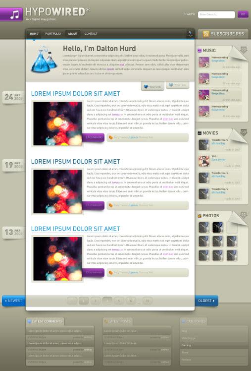3985231783 e1bee1e688 o d Inspirasi Layout Desain Web dari DeviantArt